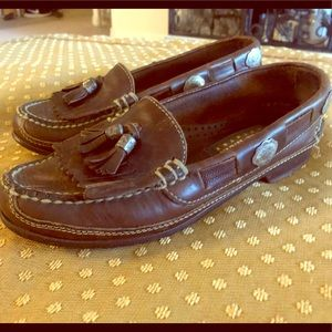 Lovely Vintage Cole Haan Studded Country Loafers
